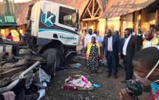 At least 10 people were killed in a multi-vehicle accident in Jozini in northern KwaZulu-Natal on 10 June 2020. Picture: Supplied.