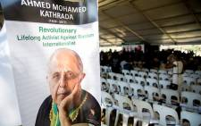 A funeral of struggle stalwart Ahmed Kathrada took place on 29 March 2017 at the Westpark Cemetery. Picture: Reinart Toerien/EWN.