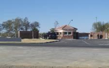 A car entering Madiba's retirement home in Qunu