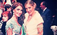Mrs South Africa Sarah-Kate Scott and Mrs South Africa CEO Joani Johnson. Picture: Sarah-Kate Scott's Facebook page
