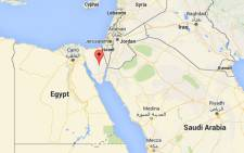 FILE: Egypt's Sinai Peninsula. Picture: Screengrab via Google maps.