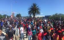 NMMU students say the vice chancellor shouldn't be dictating where they meet him. Picture: Masa Kekana/EWN.