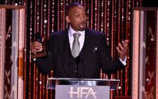 FILE: Will Smith accepts the Hollywood Actor Award for 'Concussion' during the 19th Annual Hollywood Film Awards at the Beverly Hilton Hotel on 1 November 2015 in Beverly Hills, California. Picture: Getty Images/AFP.
