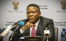FILE. Sports and Recreation Minister Fikile Mbalula. Picture: Thomas Holder/EWN.