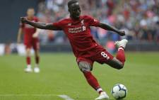 Liverpool midfielder Naby Keita in action during the English Premier League football match against Tottenham Hotspur at Wembley Stadium in London, on 15 September 2018. Picture: AFP