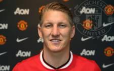 Manchester United new signing Bastian Schweinsteiger. Picture: Manchester United/Facebook.