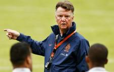 Dutchman Louis van Gaal. Picture: Facebook.