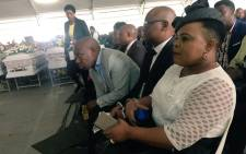 Rebecca Malope is one of the artists who've attended the funeral of the Bronkhorstspruit crash victims. Picture: Hitekani Magwedze/EWN.