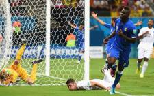 FILE: Italy's Mario Balotelli celebrates his goal against England in the opening match of Group D of the 2014 Fifa World Cup in Brazil on 14 June 2014. Picture: Facebook.