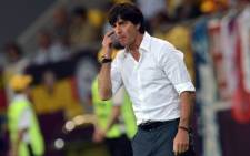 German coach Joachim Loew at Euro 2012. Picture: AFP