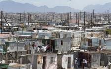 A general view of Khayelitsha, near Cape Town, on 31 March 2020. Picture: AFP.