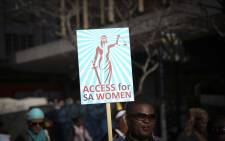 Women from all walks of life marched through Cape Town CBD to raise awareness about the need for specialised sexual offences courts. Picture: Cindy Archillies
