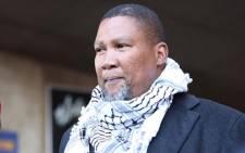 Former president Nelson Mandela's eldest grandson, Mandla Mandela. Picture: Abigail Javier/Eyewitness News