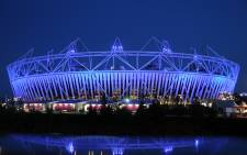 London's Olympic Stadium. Picture: AFP