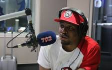 Co-founder and director at Sneaker Exchange Expo Tebogo Mogola. Picture: Talk Radio 702.