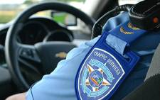 FILE: A Cape Town Traffic Services officer. Picture: EWN.