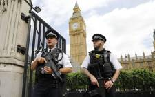 FILE: UK police near parliament. Picture: AFP