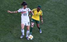 After losing all three matches at the Fifa Women's World Cup Banyana Banyana have been knocked out, after a bruising 4-0 loss to Germany at the Stade de la Mosson in Montpellier on Monday. Credit: AFP
