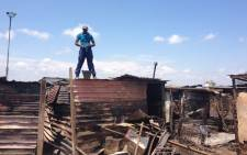 FILE: Hundreds of residents from the Slovo Park were left homeless after a fire razed 400 shacks to the ground. Picture: Emily Corke/EWN.