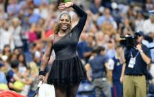 Serena Williams at the US Open on 28 August 2018. Picture: @usopen/Twitter