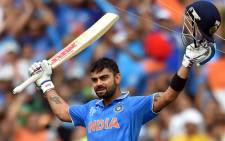 FILE: India's Captain Virat Kohli. Picture: AFP