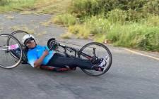 Para-cycling national champion Palesa 'Deejay' Manaleng.