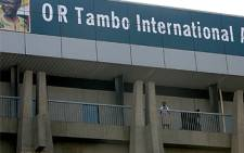 O R Tambo International Airport in Johannesburg. Picture: SAPA