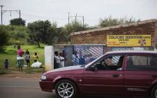 The Child Care Orientation Centre in Klipspruit West where 9 children were diagnosed with listeriosis. Picture: Kayleen Morgan/EWN