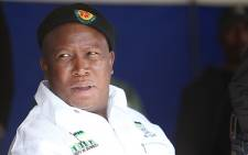 Former ANC Youth League president Julius Malema. Picture: Eyewitness News.