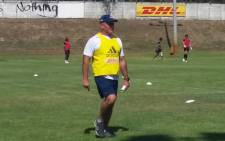 FILE: Stormers head coach John Dobson during a training session. Picture: Ayanda Felem/EWN