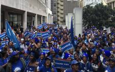 Democratic Alliance supporters gathered in Cape Town on 16 May 2019 to celebrate incoming premier Alan Winde. Picture: Jason Felix/EWN.