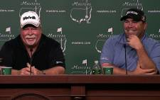 Craig and Kevin Stadler will become the first father-son duo to compete at the Masters. Picture: Facebook.com.