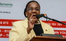 Minister of Transport Dipuo Peters. Picture: Facebook.