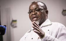 ANC Secretary General Gwede Mantashe. Picture: Reinart Toerien/EWN.