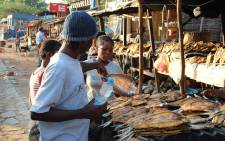 Fish being sold at a market. Picture: pixabay.com