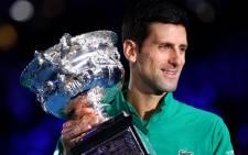 Novak Djokovic. Picture: @AustralianOpen/Twitter