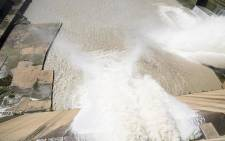 FILE: Mist rises as approximately 400 000 cubic meters of water was released from the Vaal dam on 26 February 2017 after the dam reached 97.8 % capacity following heavy rains across Gauteng. Picture: Reinart Toerien/EWN.
