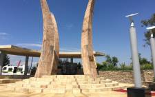 Monument erected in honour of Chris Hani at South Park cemetery south of Johanneburg on 10 April 2015. Picture: Reinart Toerien/EWN.