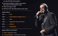 Graphic showing George Michael's notable albums and biggest Billboard hits. The British singer died at his home in England on Sunday, at the age of 53.
