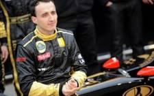 Formula One driver Robert Kubica. Picture: AFP