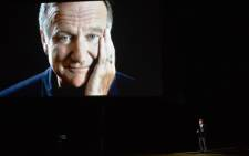 FILE: Robin Williams. Picture: AFP.