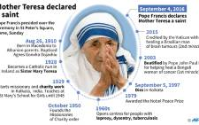 Short profile of Mother Teresa, who was elevated to the sainthood in Rome Sunday.