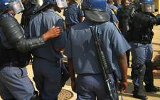 Members of Parliament on Wednesday heard that nearly 1,500 police officers have broken the law. Picture: EWN