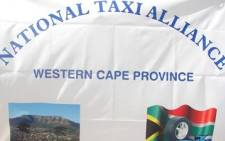 The National Taxi Alliance is planning to march to the transport department's office's in Pretoria on Monday to hand over a memorandum of demands to Transport Minister Dipuo Peters. Picture: Taurai Maduna/EWN.