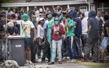 FILE: University of the Western Cape students. Picture: Thomas Holder/EWN.