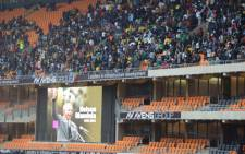 More people have already started to pack the FNB Stadium in Nasrec ahead of Nelson Mandela's memorial service on 10 December 2013. Picture: Christa Van der Walt/EWN.
