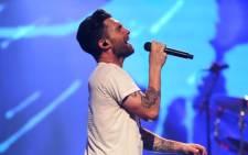 FILE: Maroon 5 frontman Adam Levine. Picture: AFP.
