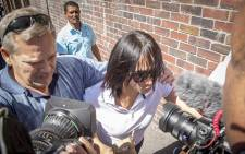 Celeste Nurse leaves the Western Cape High Court after the woman who kidnapped her biological daughter Zephany was found guilty on 10 March 2016. Picture: Aletta Harrison/EWN