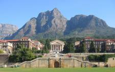The University of Cape Town. Picture: Supplied.