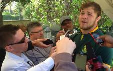 Springbok loose forward Duane Vermeulen says he's excited to play in his first Rugby World Cup. Picture: Vumani Mkhize/EWN.